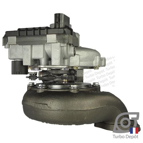 Turbo TR11057G pour GARRETT 770895-0002, 770895-0007, 770895-0008 face 3
