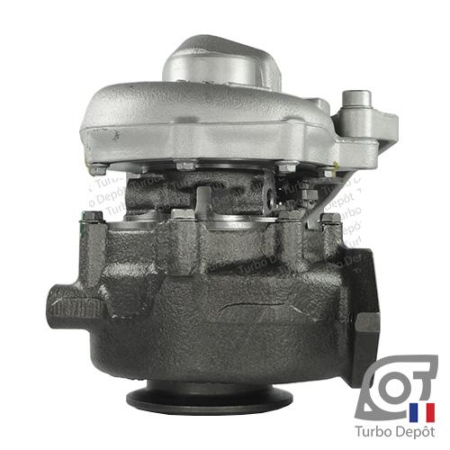 Turbo TR11034Z pour MITSUBISHI 49135-05620, 49135-05630, 49135-05640, 49135-05650, 49135-05651, 49135-05660, 49135-05671, face 3