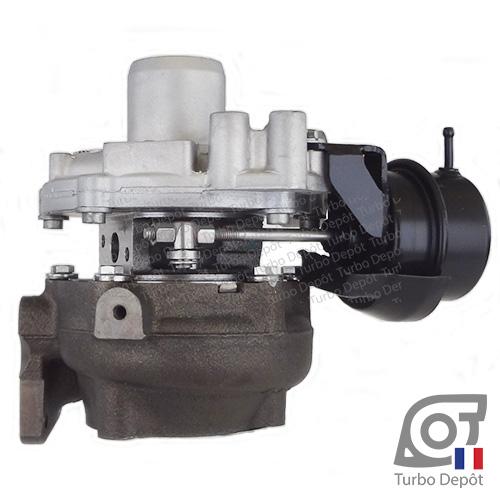 Turbo TR11086A pour BORGWARNER 5438-970-0005, 5438-970-0018 face 3, sur NISSAN NV300 (2014-…) DIESEL 1.6 dCi 95/120cv