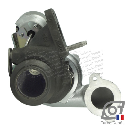 Turbo TR10038D pour MITSUBISHI 49172-03000 face 6, BE TURBO 131385, MOTAIR 336908, SCHLUTTER 172-00217, TURBO'S HOET 2101260