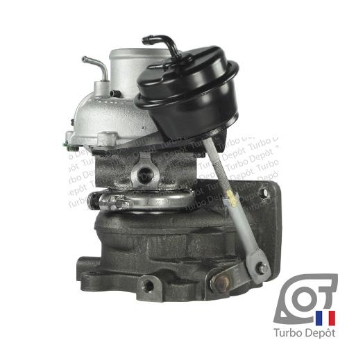 Turbo TR10054C pour IHI TURBO VL39 face 5, IHI RHF3H, VL39