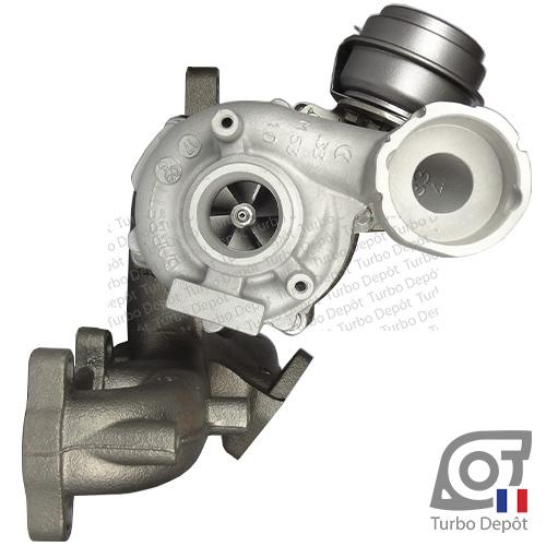 Turbo TR11006G pour Garrett 751851, BorgWarner 5439-970-0011, 5439-970-0022 et 5439-970-0082, face 1