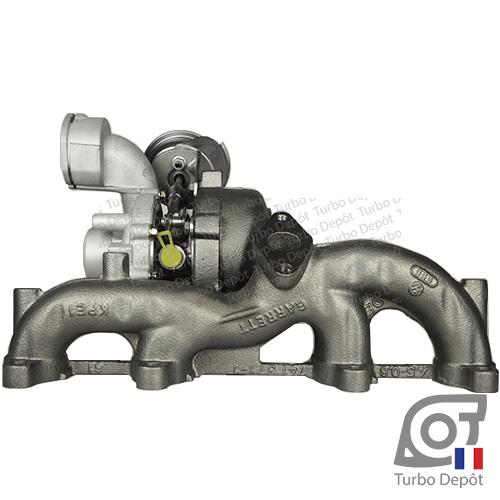 Turbo TR11006G pour Garrett 751851, BorgWarner 5439-970-0011, 5439-970-0022 et 5439-970-0082, face 2