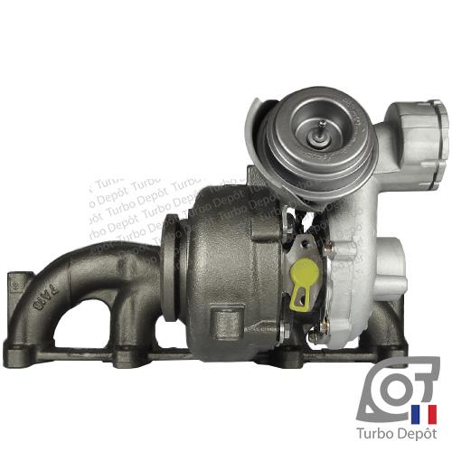 Turbo TR11006G pour Garrett 751851, BorgWarner 5439-970-0011, 5439-970-0022 et 5439-970-0082, face 3