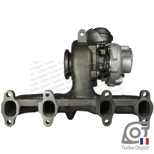 Turbo TR11006G pour Garrett 751851, BorgWarner 5439-970-0011, 5439-970-0022 et 5439-970-0082, face 4