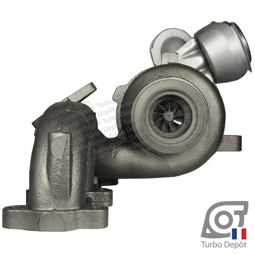Turbo TR11006G pour Garrett 751851, BorgWarner 5439-970-0011, 5439-970-0022 et 5439-970-0082, face 6