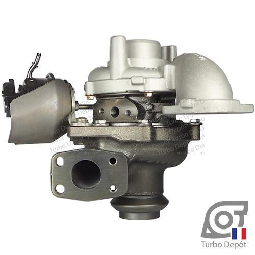 Turbo TR11010M pour GARRETT 784011, 806291, 824060, face 2, sur FORD GALAXY (2006-2015) 1.6 TDCi 115cv, GRAND C-MAX (2010-…) 1.6 TDCi 95/115cv, MONDEO (2007-2014) 1.6 TDCi 115cv, S-MAX (2006-2015) 1.6 TDCi 115cv, TOURNEO CONNECT (2013-…) 1.6 TDCi 115cv, TRANSIT CONNECT (2013-…) 1.6 TDCi 115cv, MAZDA 5 (2010-…) 1.6 CD 116cv, PEUGEOT 2008 (2013-…) 1.6 HDi 114cv, 207 (2006-2012) 1.6 HDi 112cv, 208 (2012-…) 1.6 HDi 114cv, 3008 (2009-2016) 1.6 HDi 112/114cv, 308 (2007-2013) 1.6 HDi 112/114cv et 308 (2013-…) 1.6 HDi BlueHDi 115cv