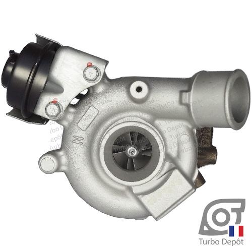 Turbo TR11072D pour MITSUBISHI 49335-01010, 49335-01011, 49335-01012, 49335-01013, 49335-01014, 49335-01015, face 1, sur MITSUBISHI OUTLANDER (2005-2012) Diesel 2.2 DI-D 177cv