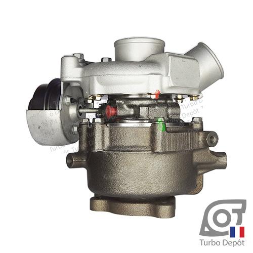 Turbo TR11016Y pour MITSUBISHI 49335-01100, 49335-01101, 49335-01102, face 4, PEUGEOT PSA CITROEN 1608851880, 16 088 518 8