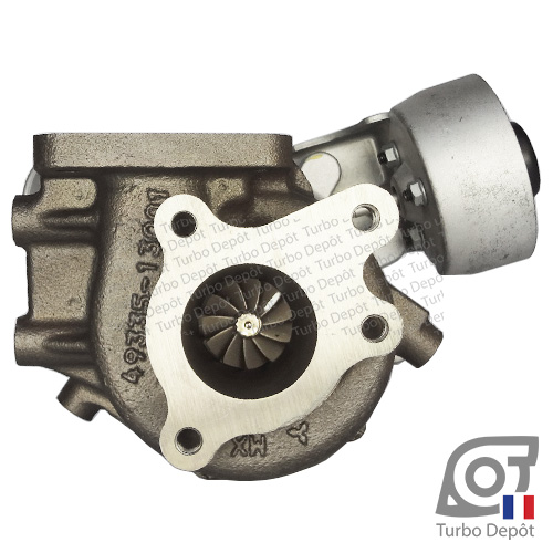 Turbo TR11016Y pour MITSUBISHI 49335-01100, 49335-01101, 49335-01102, face 6, BE TURBO 130094, BTS T916453, T916468, MOTAIR 336743, 550228, 560229, SCHLUTTER 166-02616, 172-02714, TURBO'S HOET 2100963