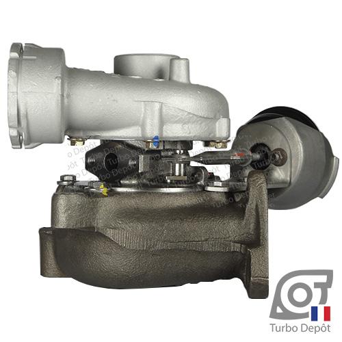 Turbo TR11019B pour Garrett 712077, 716215 et 717858, face 4