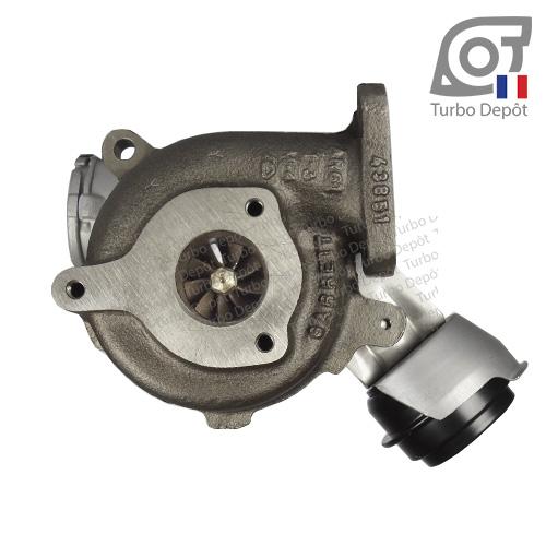 Turbo TR11019B pour Garrett 712077, 716215 et 717858, face 6