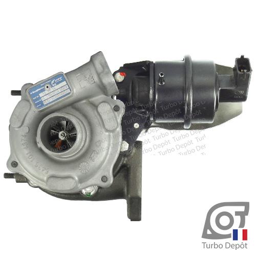 Turbo TR11037C pour BORGWARNER 5435-970-0027, face 1, sur ALFA-ROMEO MITO (2008-…) DIESEL 1.3 JTDm 95cv, FIAT 500 (2007-2015) DIESEL 1.3 D MultiJet 95cv, FIAT DOBLO (2010-…) DIESEL 1.3 D MultiJet 90cv, FIAT FIORINO (2007-2017) DIESEL 1.3 D MultiJet 95cv et FIAT IDEA (2004-2010) DIESEL 1.3 D MultiJet 95cv