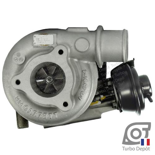 Turbo TR11039E pour GARRETT 705954, 723739, 724639, face 1, sur NISSAN PATROL GR type Y61 (2000-2010) DIESEL 3.0 DTi 158/160cv