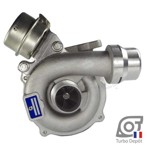 Turbo TR11043L pour BORGWARNER 5439-970-0066, 5439-970-0080 face 1, sur RENAULT CLIO (2005-2014) DIESEL 1.5 dCi 103cv et RENAULT MEGANE (2002-2009) DIESEL 1.5 dCi 103cv