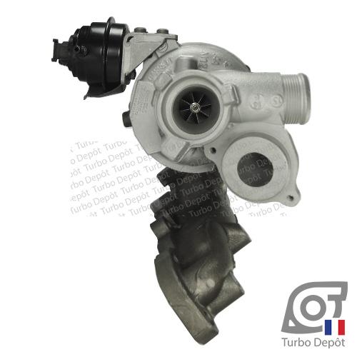 Turbo TR11052A pour GARRETT 813860, 847671 face 1, sur AUDI A3 (2012-…) DIESEL 1.6 TDI 105/110cv