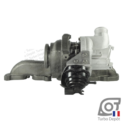 Turbo TR11052A pour GARRETT 813860, 847671 face 3, sur VOLKSWAGEN GOLF 7 (2012-…) DIESEL 1.6 TDI 90/105/110cv et VW TOURAN (2015-…) DIESEL 1.6 TDI 110cv