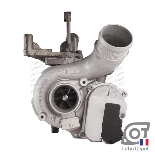 Turbo TR11071C pour BORGWARNER 5304-970-0035, 5304-970-0043, 5304-970-0045, 5304-970-0050, 5304-970-0054, face 1, sur AUDI A4 (2004-2008) DIESEL 3.0 TDI 204/233cv et AUDI A6 (2004-2011) DIESEL 3.0 TDI 211/225/233cv