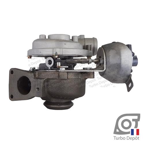 Turbo TR11084Y pour GARRETT 728768, 753847, 760774, face 2, sur FORD MONDEO (2007-2014) DIESEL 2.0 TDCi 115/130/136cv, FORD S-MAX (2006-2015) DIESEL 2.0 TDCi 115/130/136/140cv, VOLVO C30 (2006-2013) DIESEL 2.0 D 136cv et VOLVO C70 (2006-2013) DIESEL 2.0 D 136cv