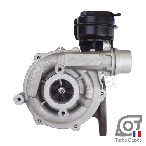 Turbo TR11090E pour GARRETT 790179 face 1, sur RENAULT MASTER (2010-…) DIESEL 2.3 dCi 125/145/150cv