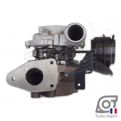 Turbo TR11090E pour GARRETT 790179 face 2, sur OPEL MOVANO (2010-…) DIESEL 2.3 CDTI 125/146/150cv