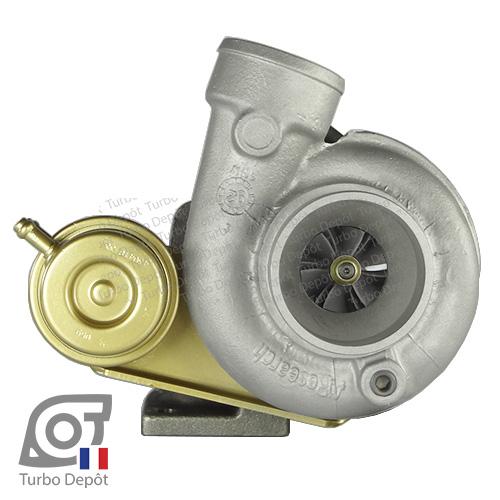Turbo TR20048W pour GARRETT 466196-0001, 466196-0002, 466506-0001, 466506-0002 face 1, sur RENAULT SUPER 5 GT Turbo (1985-1991) ESSENCE 1.4 - 115/120cv