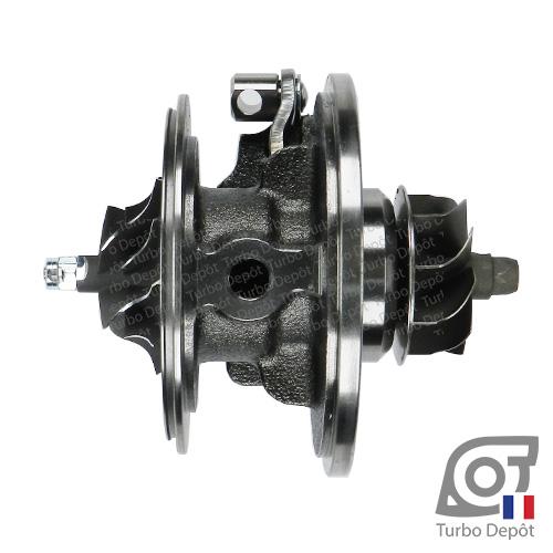 Ensemble Tournant CHRA cartouche centrale ET095M pour turbo BorgWarner 5439-970-0071, 5439-970-0072, face 2