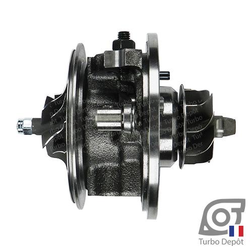 Ensemble Tournant CHRA cartouche centrale ET095M pour turbo BorgWarner 5439-970-0071, 5439-970-0072, face 3
