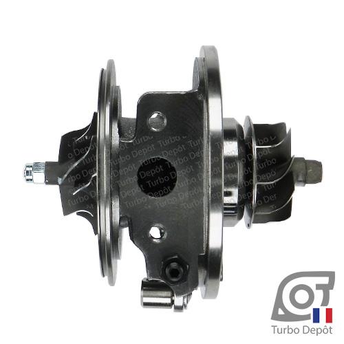 Ensemble Tournant CHRA cartouche centrale ET095M pour turbo BorgWarner 5439-970-0071, 5439-970-0072, face 4