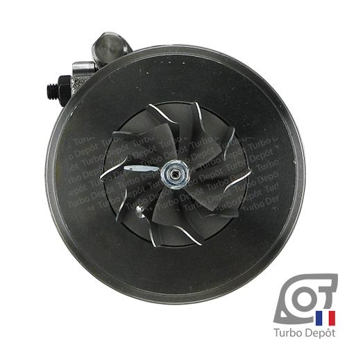 Ensemble Tournant CHRA cartouche centrale ET095M pour turbo BorgWarner 5439-970-0071, 5439-970-0072, face 5