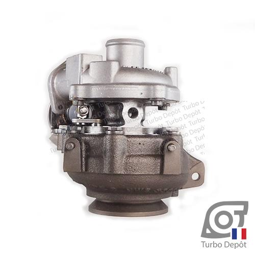 Turbo TR11101Y pour BORGWARNER 5435-970-0037 face 4, FIAT 55221409, 71724427, 71794953, 71794954