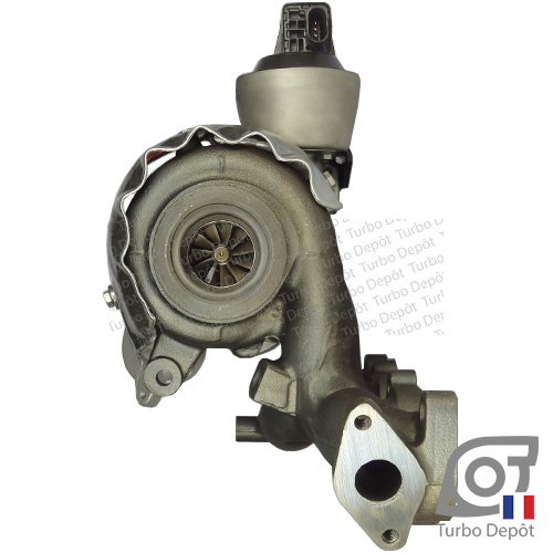 Turbo TR11104B pour BORGWARNER 5303-970-0129/-0137/-0207 face 6, BE TURBO 128063, BTS TURBO T914994, T915501, LUCAS LTRPA53039880129, MOTAIR 106192, 336192, SCHLUTTER 166-09350, 166-09355, TMI PA53039700129, TURBO-MOT 636082, TURBO'S HOET 1104113, VEGE 09091907,