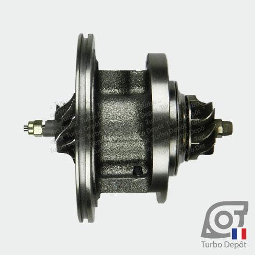 Ensemble tournant CHRA ET153Z pour turbo BORGWARNER 5435-970-0027, face 1, sur ALFA-ROMEO MITO (2008-…) DIESEL 1.3 JTDm 95cv, FIAT 500 (2007-2015) DIESEL 1.3 D MultiJet 95cv, FIAT DOBLO (2010-…) DIESEL 1.3 D MultiJet 90cv, FIAT FIORINO (2007-2017) DIESEL 1.3 D MultiJet 95cv, FIAT IDEA (2004-2010) DIESEL 1.3 D MultiJet 95cv, FIAT PUNTO (2005-…) DIESEL 1.3 D MultiJet 90/95cv, FIAT QUBO (2008-2017) DIESEL 1.3 D MultiJet 95cv, FIAT STRADA (2007-…) DIESEL 1.3 D MultiJet 95cv, LANCIA MUSA (2004-2012) DIESEL 1.3 D MultiJet 95cv, LANCIA YPSILON (2011-…) DIESEL 1.3 D MultiJet 95cv, OPEL ASTRA (2009-2015) DIESEL 1.3 CDTI 95cv, OPEL COMBO (2011-2018) DIESEL 1.3 CDTI 90cv, OPEL CORSA (2006-2014) DIESEL 1.3 CDTI 95cv et OPEL MERIVA (2010-2017) DIESEL 1.3 CDTI 95cv