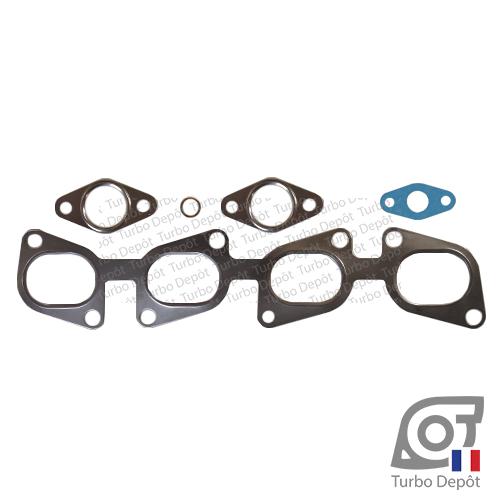 Pochette de joints PJ176G pour turbo GARRETT 755046-0001, 755046-0002, 755046-0003, 766340-0001, 766340-0002, 773720-0001 et 773720-0003
