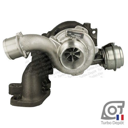 Turbo TR11099W pour turbo Garrett 755046-0001, 755046-0002, 755046-0003, 766340-0001, 766340-0002, 773720-0001, 773720-0003, face 1