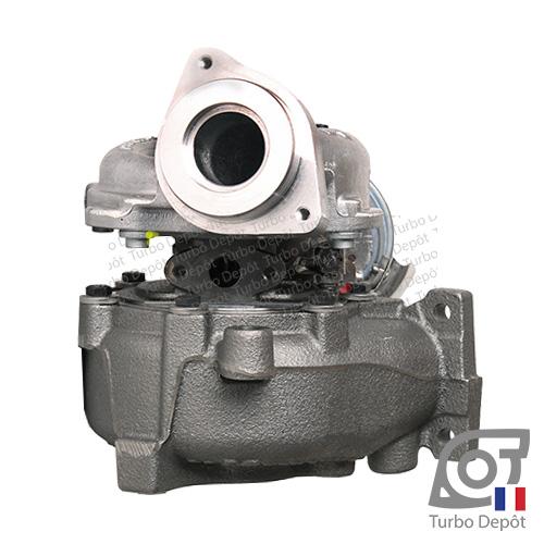 Turbo TR11119Z pour BORGWARNER 5303-988-0133/-0140/-0190 face 2, sur AUDI Q5 (2008-2017) DIESEL 2.0 TDI 136/143cv et SEAT EXEO (2008-2013) DIESEL 2.0 TDI 120/143cv