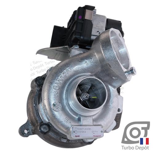 Turbo 1103836 pour GARRETT 731877-0001, 731877-0003, 731877-0004, 731877-0006, 731877-0007, 731877-0009, 731877-0010 sur BMW 320d (E46) (1998 à 2007) 2.0 DIESEL 150cv