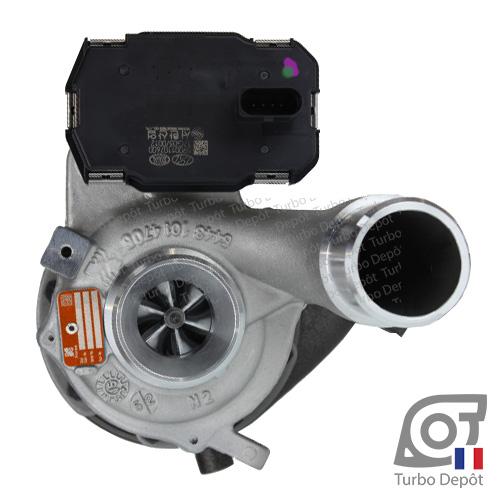 Turbo TR11129M pour BORGWARNER 5439-970-0107, face 1