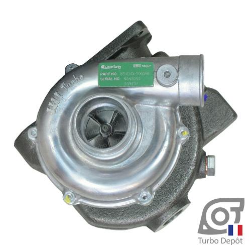 Turbo TR10131T pour IHI TURBO 129473-18000, 12947318000, 129476 18000, MY34, RHB52, B51CND-S0039B, VA130039 sur YANMAR 4JH-DTE