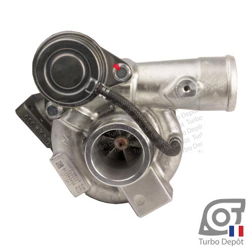 Turbo TR10144K pour MITSUBISHI 49189-02950, 49189-02951 face 1, sur CITROEN JUMPER (2006-2014) DIESEL 3.0 HDi 160cv