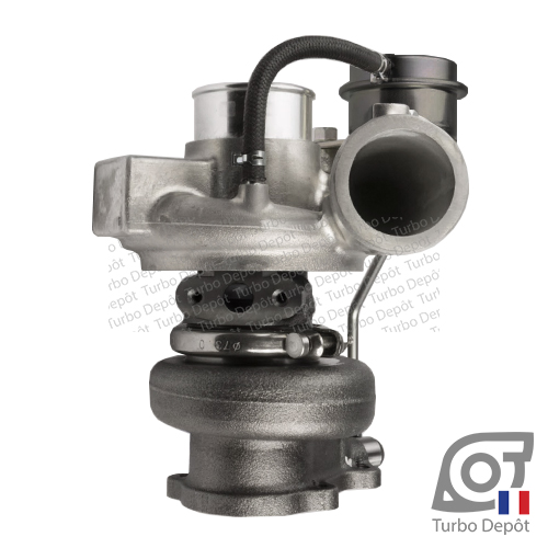 Turbo TR10144K pour MITSUBISHI 49189-02950, 49189-02951 face 2, sur FIAT DUCATO (2006-2018) DIESEL 3.0 D MultiJet 160cv