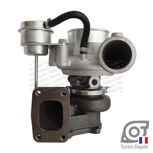 Turbo TR10149U pour MITSUBISHI 49189-02911, 49189-02912, 49189-02915 face 1, sur IVECO DAILY (2000 à 2006) DIESEL 3.0 136cv