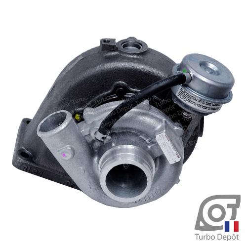Turbo TR11159G pour GARRETT 707906-0004, 707906-0006, 707906-0007, face 1 sur VW VOLKSWAGEN MARINE MOTOR 065145701, 065145701A, 065145701V500