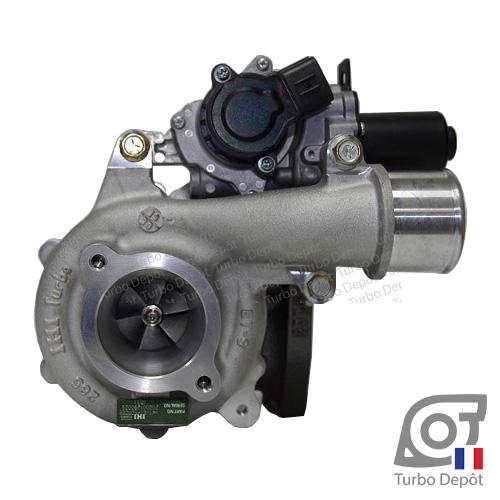 Turbo TR10167W pour TOYOTA 17201-0L071, VB31, V41VET-S0028B, RHV4 face 1, sur TOYOTA HILUX (2005-2015) DIESEL 2.5 D-4D 144cv