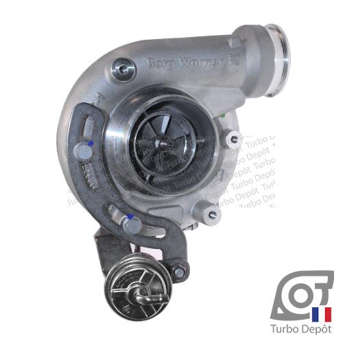 Turbo TR10171A pour BORGWARNER 1270-988-0018, 1270-990-0018 type S200G face 1, sur VOLVO INDUSTRIEL TAD750VE, DEUTZ TCD1023 7.2 Diesel 200kw/268cv