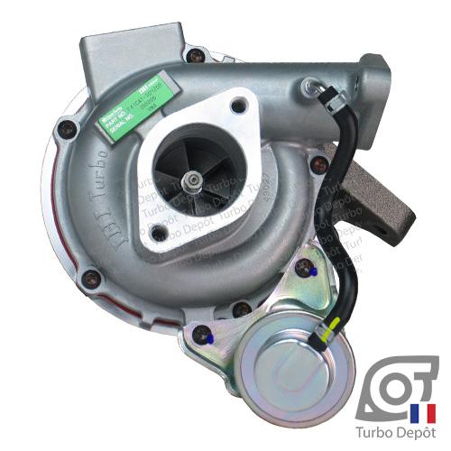 Turbo TR10173C pour IHI TURBO VN4 face 1, sur RENAULT MAXITY (2007-…) DIESEL 2.5 dCi 110cv, NISSAN CABSTAR (2007-) DIESEL 2.5 dCi 110/122/131/136cv et NISSAN NP300 (2005-2016) DIESEL 2.5 dCi 133cv
