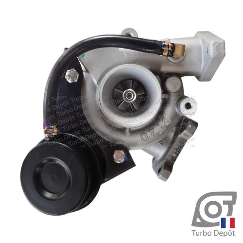 Turbo TR10174D pour TOYOTA 17201-54030 face 1, sur TOYOTA LANDCRUISER LJ73 (1984 à 1992) DIESEL 2.4 TD 86cv