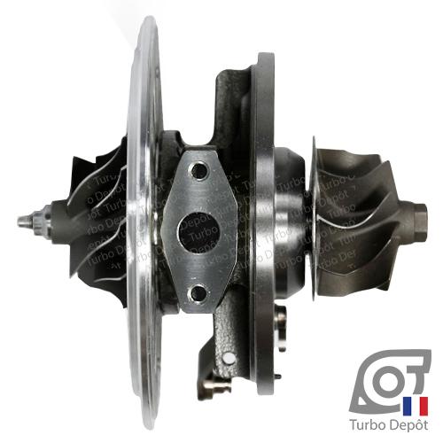 Ensemble tournant CHRA ET195K pour turbo GARRETT 750773-0015 et 750773-0017 face 1, sur BMW 330d (E46) (1998 à 2007) 3.0 DIESEL 204cv