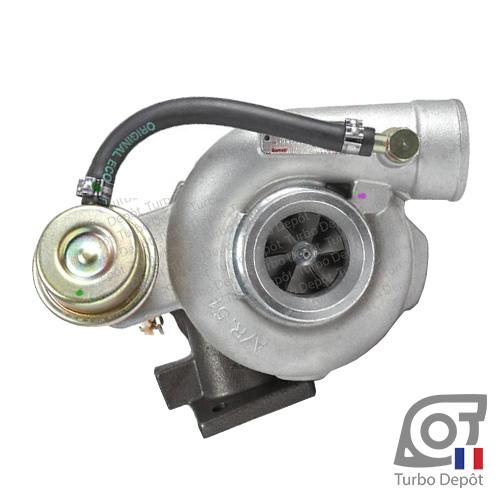 Turbo TR10192E pour Garrett 452187-0001 et 452187-0006, face 1 sur NISSAN CABSTAR et TRADE 3.0 DIESEL 106/110/120/125cv