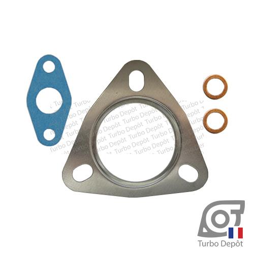 Pochette de joints PJ202X pour turbo GARRETT 762463-0002, face 1 sur OPEL ANTARA (2006 à 2014) 2.0 CDTi 126/150cv et CHEVROLET CAPTIVA (2006 à 2018) 2.0 16V VCDI 126/147cv